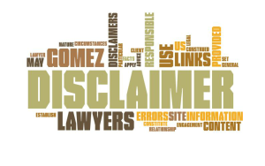 Disclaimerwordcloud